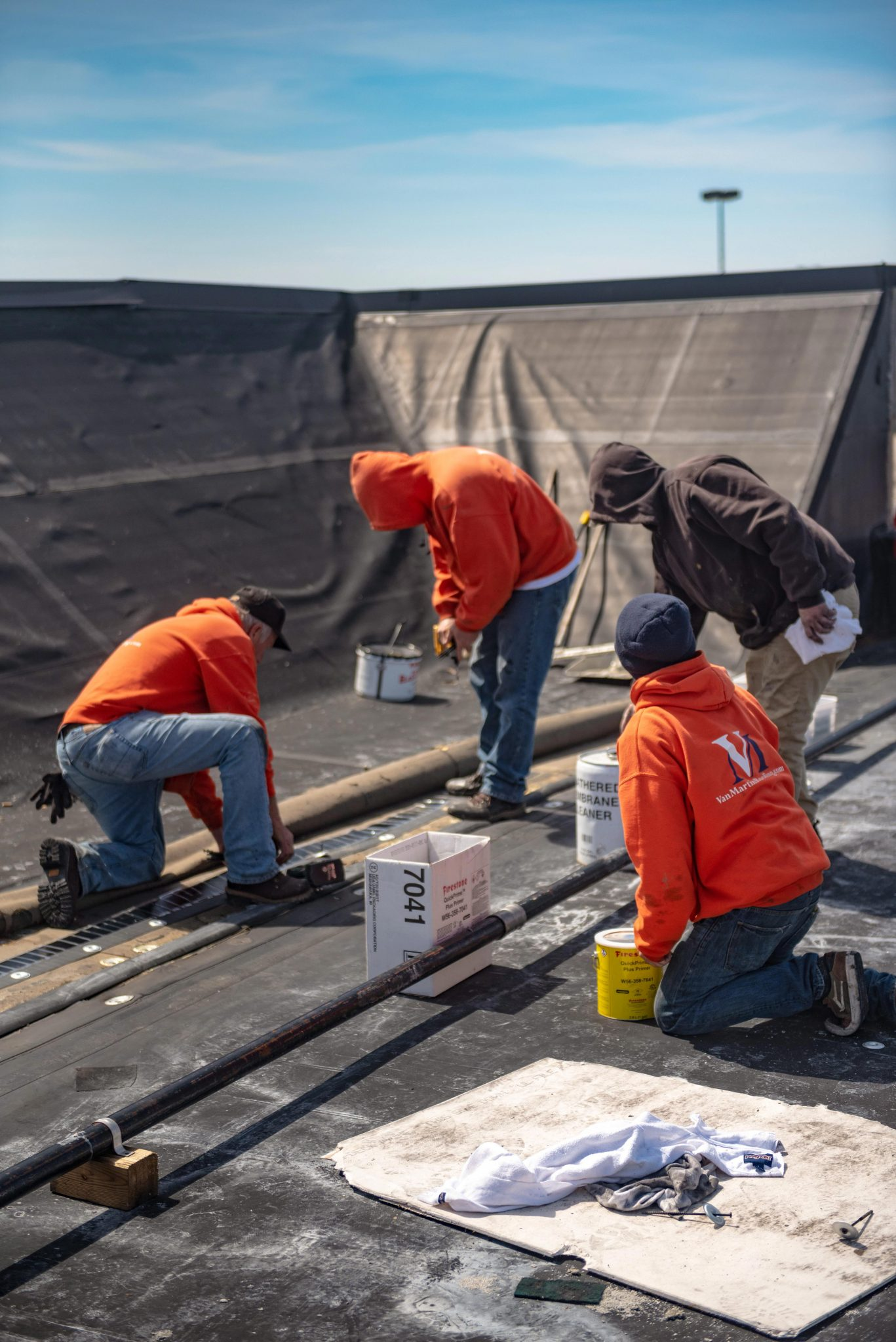 commercial roofing, sheet metal, roof repair, roof replacement, EPDM, single-ply